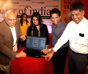 "Launch of ""E Newspaper of India"" in New Delhi"