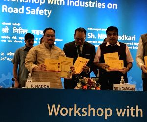 Workshop on Industries Issues on Road Safety - inauguration - Nitin Gadkari, JP Nadda