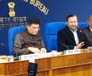 Cabinet briefing by Piyush Goyal, Prakash Javadekar
