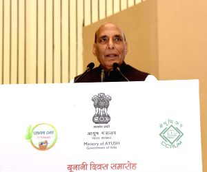 Rajnath Singh at Unani Day Celebration-cum-International Conference on Unani Medicine