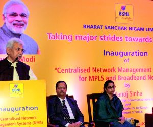"Inauguration of ""Centralised NMS for MPLS and Broadband Network"