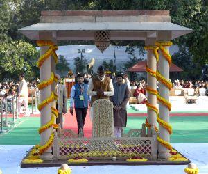 Tributes paid to Mahatma Gandhi at Gandhi Smriti