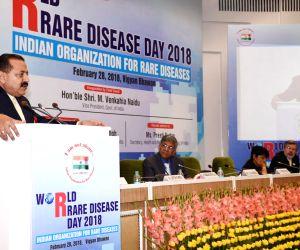 World Rare Disease Day 2018' - J.P. Nadda, Jitendra Singh