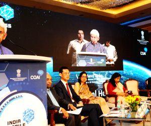 Manoj Sinha launches India Mobile Congress-2018
