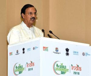 World Environment Day - Harsh Vardhan, Mahesh Sharma