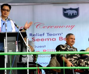 Rescue and Relief Team (RRT) - inauguration - Kiren Rijiju