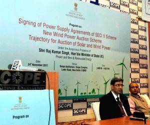 Third Wind Power Auction Scheme - RK Singh