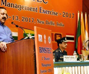 Valedictory Session of the BIMSTEC Disaster Management Exercise 2017 - Jitendra Singh