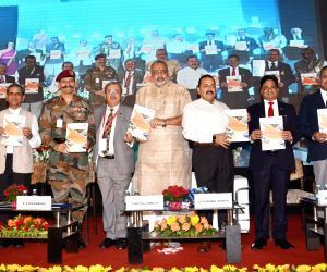 """Jitendra Singh at """"Defence and Homeland Security Expo and Conference 2018"""