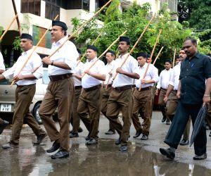 RSS Path Sanchalan march - Ananth Kumar