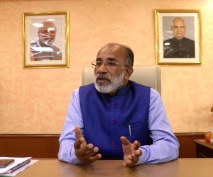 Alphons Kannanthanam during an interview with IANS