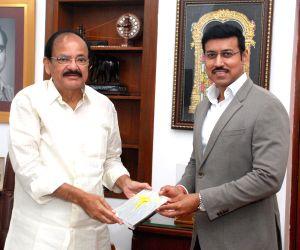Rajyavardhan Singh Rathore meets Venkaiah Naidu