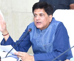 Piyush Goyal addresses at WCL review meeting