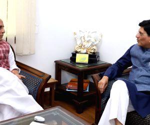 Piyush Goyal meets Rajnath Singh