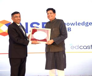 Piyush Goyal inaugurates NSE Knowledge Hub
