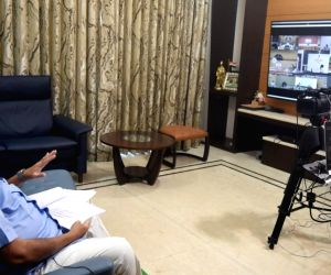 Nitin Gadkari holds video conference meet with CMs, Road Transport Ministers of States/UTS