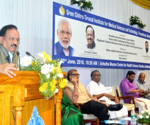 Harsh Vardhan launches four major projects at SCTIMST