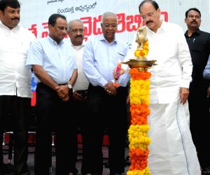 Venkaiah Naidu inaugurates free medical camp,