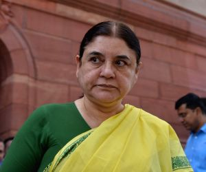 CCTVs in buses waste of public money: Maneka Gandhi