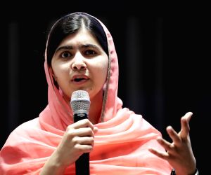 Malala visits native town in Pakistan amid high security