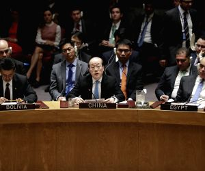 UN SECURITY COUNCIL SYRIA DRAFT RESOLUTION CHINA LIU JIEYI