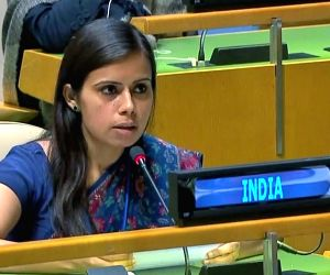 United Nations: Eenam Gambhir, a First Secretary at the Indian Mision to the United Nations