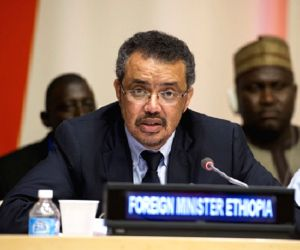 United Nations: Former Ethiopian Foreign Minister Tedros Adhanom Ghebreyesus who was elected as the Director-General of the World Health Organisation (WHO), becoming the first African to head the ...