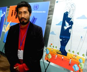 UN-AWARD CEREMONY FOR THE UN POSTER FOR PEACE CONTEST