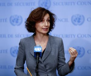 UN SECURITY COUNCIL UNESCO AUDREY AZOULAY CULTURAL HERITAGE PROTECTION