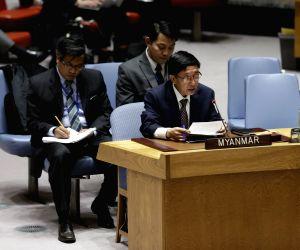UN-SECURITY COUNCIL-MYANMAR-RAKHINE