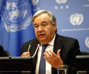 Action on climate needed before time runs out: Guterres