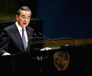UN-GENERAL ASSEMBLY-GENERAL DEBATE-CHINA-WANG YI