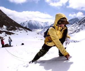 CHINA XINJIANG GLACIER RESEARCH