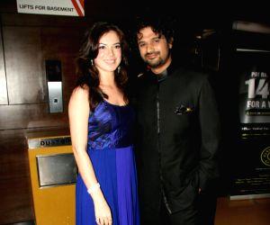 Urvashi Sharma at Baabar film premiere.