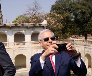 Kenneth I. Juster visits Qutub Shahi Tombs