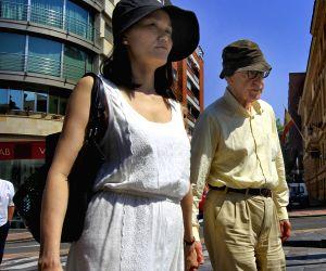 Woody Allen visit Spain
