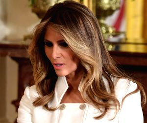 Melania Trump promotes 'kindness, compassion, positivity' at youth conference