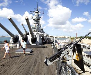 Pearl Harbor: USS Missouri battleship