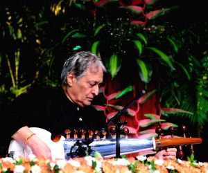 Free Photo: Ustad Amjad Ali Khan presented lifetime achievement award in Delhi