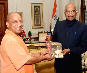 CM Yogi Adityanath meets President Kovind