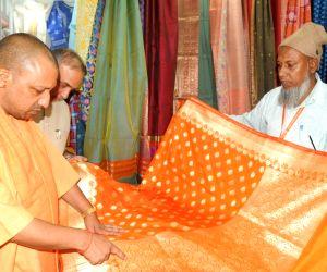 UP CM Yogi visits IITF