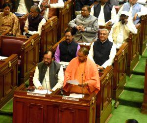 UP Assembly Winter session - Yogi Adityanath