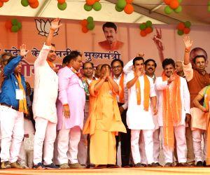 2019 Lok Sabha elections - Yogi Adityanath campaigns for Gautam Gambhir