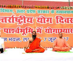 Curtain raiser event for International Day of Yoga 2017