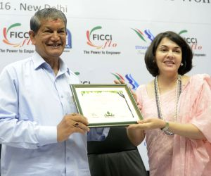 Harish Rawat during FICCI-FLO programme