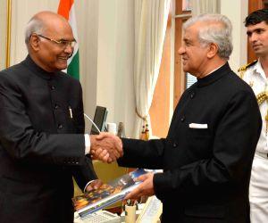 Uttarakhand Governor KK Paul meets President Kovind