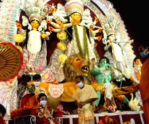In Bengal it might be a wet 'puja' this year