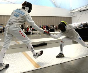 The Canada Cup Fencing Championship at Canada Place in Vancouver