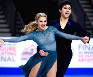 CANADA VANCOUVER INTERNATIONAL SKATING UNION GRAND PRIX JUNIOR ICE DANCE