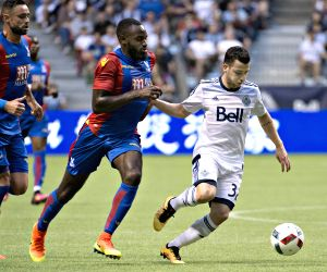 CANADA-VANCOUVER-SOCCER-FRIENDLY MATCH-WHITECAPS VS CRYSTAL PALACE